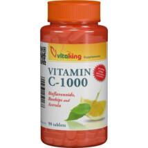 C-vitamin 1000mg bioflav, 90db
