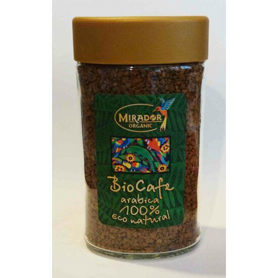 100% Bio arabica kávé instant 100g