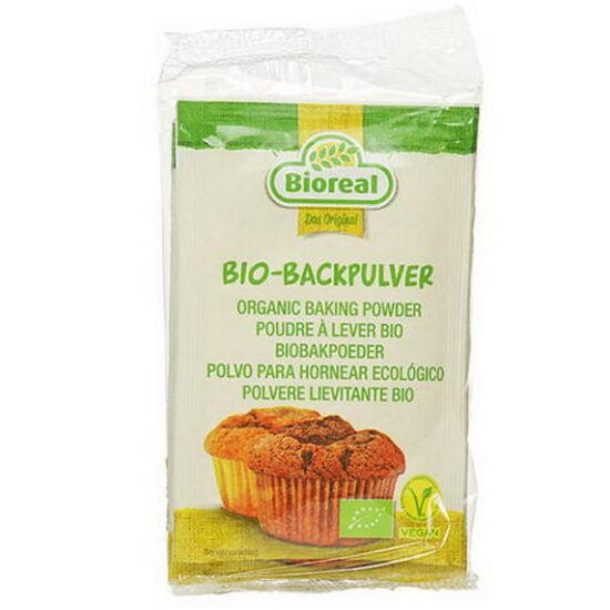 Bio Bioreal Foszfátmentes sütőpor 3x10g
