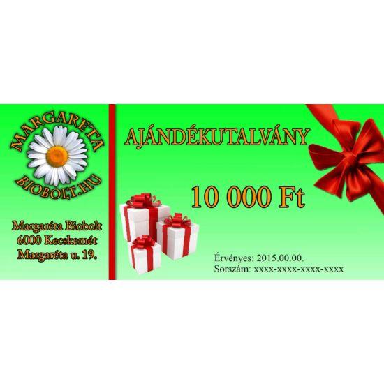 10.000 Ft Ajándék utalvány
