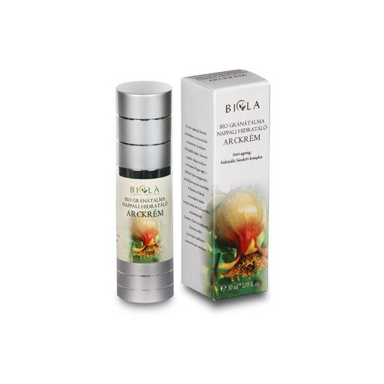 Bio gránátalma nappali hidratáló arckrém 30 ml