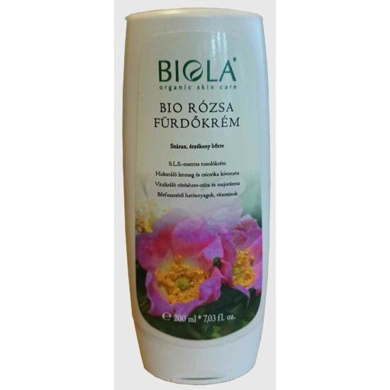 Bio rózsa fürdőkrém 200 ml