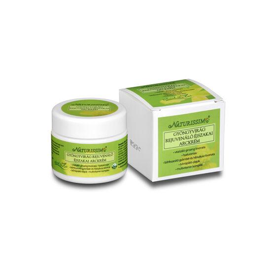 Gyöngyvirág rejuvenáló éjszakai arckrém 50 ml