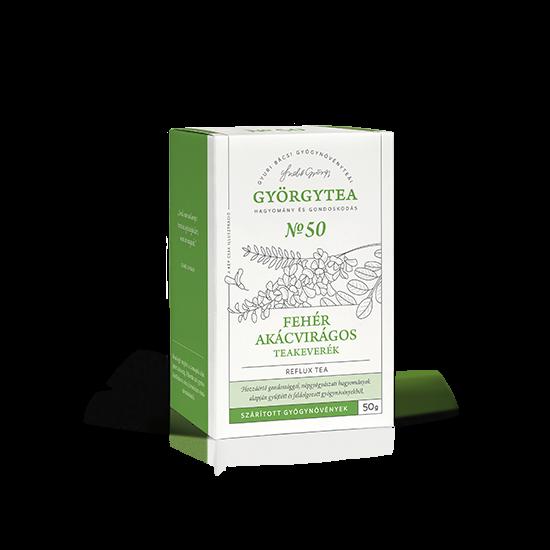 Fehér akácvirágos teakeverék 50g (Reflux tea)
