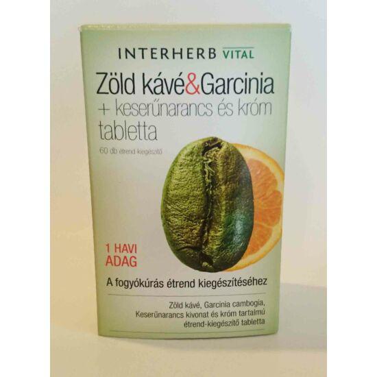 Zöld kávé és Garcinia 60db