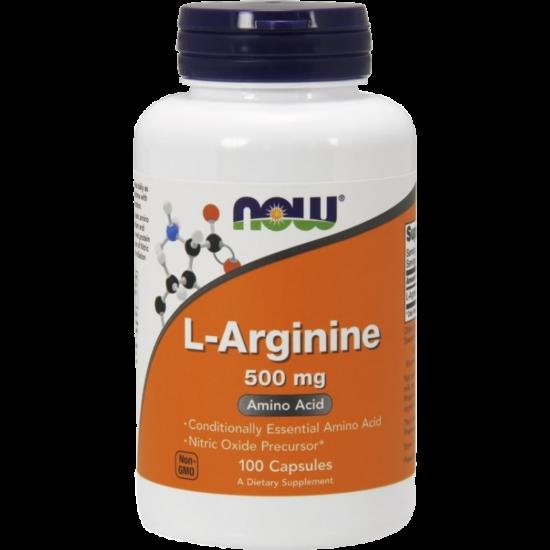 Now L-Arginine 500mg (100db)