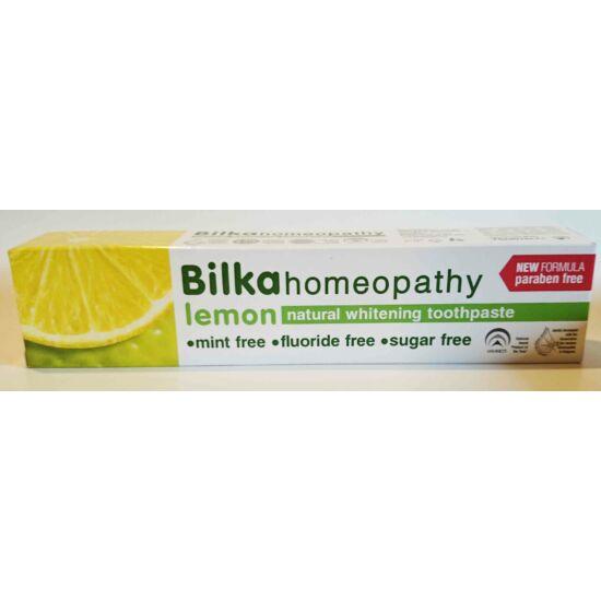 Bilka homeopathy citrom izű fehérítő fogkrém 75ml