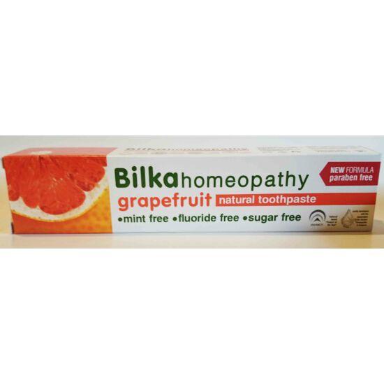 Bilka homeopathy grapefruit izű fogkrém 75ml